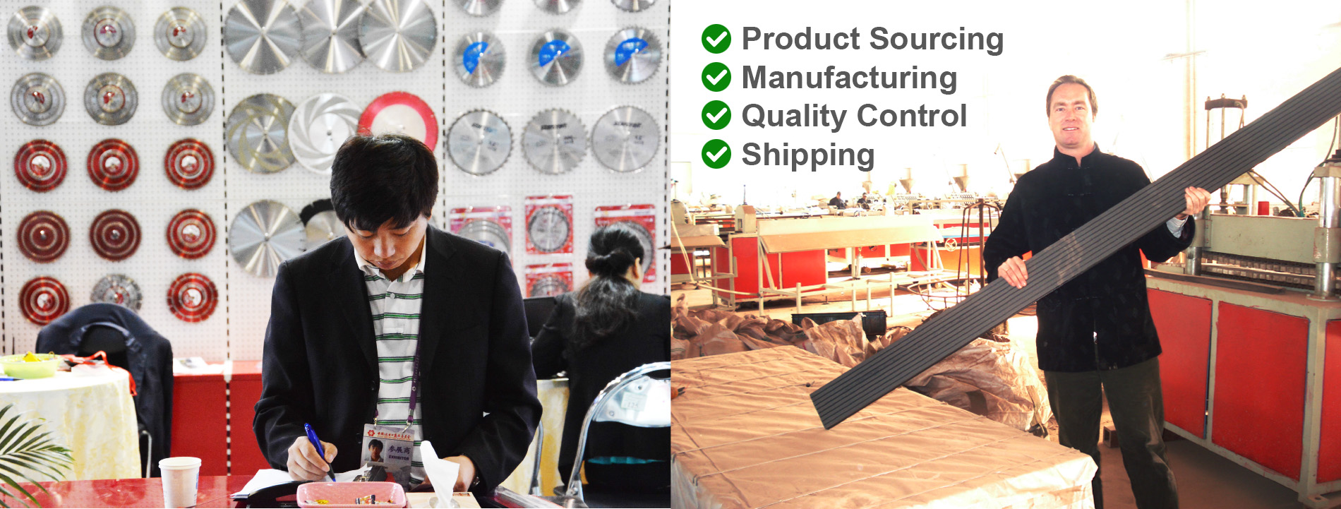 Product Sourcing | Manufacturing | Quality Control | Shipping